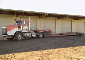 Kenworth 3 Axle with Murray Lowbed